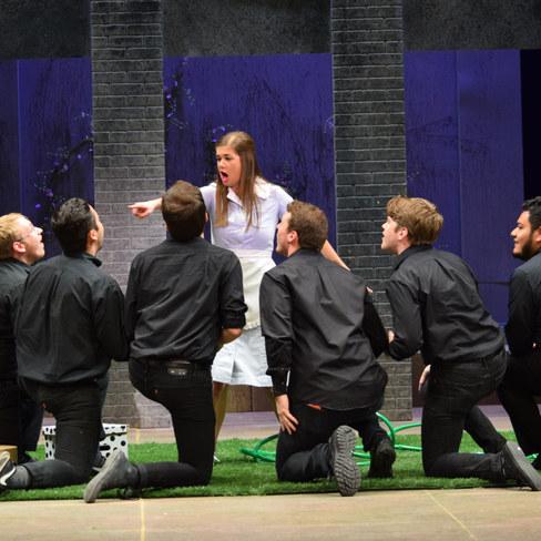 Serpetta La finta giardiniera Baylor Opera Theatre 2017