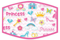 Child's Face Covering Princess