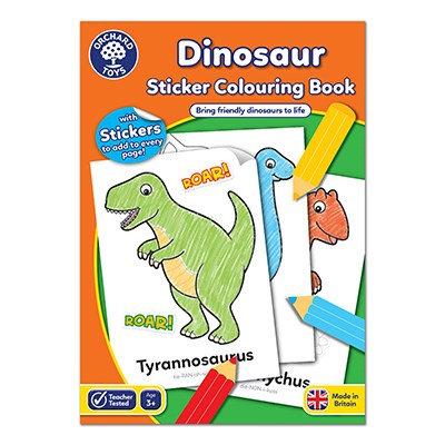 Orchard Dinosaur Colouring Book