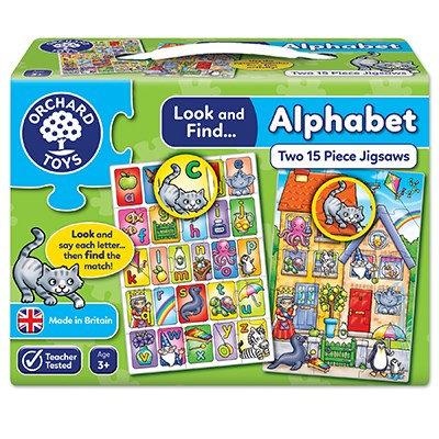 Orchard Look & Find Alphabet Jigsaw
