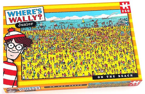 Wheres Wally On The Beach 250 piece Jigsaw