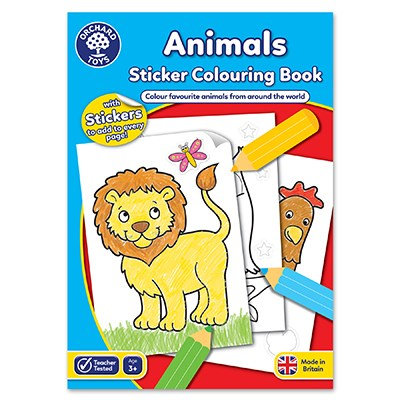 Orchard Animals Colouring Book