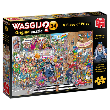 Wasgij Original 34 - A Piece of Pride