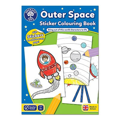 Orchard Outer Space Colouring Book