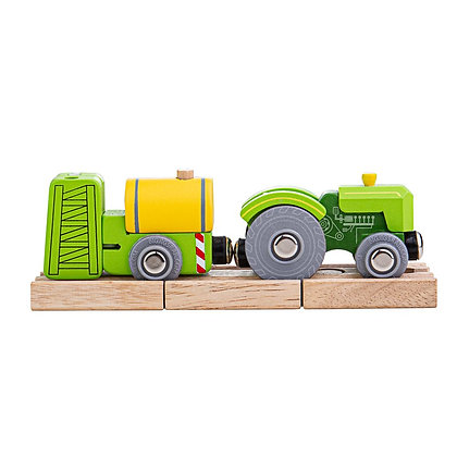 Bigjigs Tractor & Crop Sprayer