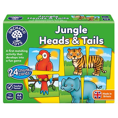 Orchard Jungle Heads & Tails Game