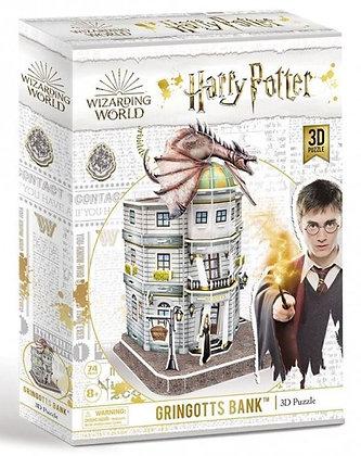 Harry Potter 3d Puzzle - Diagon Ally Gringotts Bank