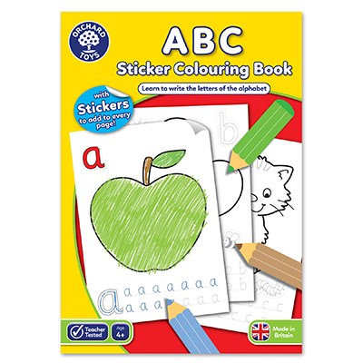 Orchard ABC Colouring Book