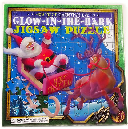 Christmas Jigsaw -Glow in The Dark