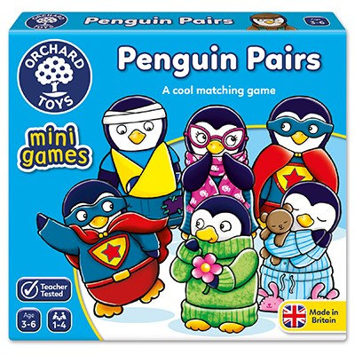 Orchard Mini Games Penguin Pairs