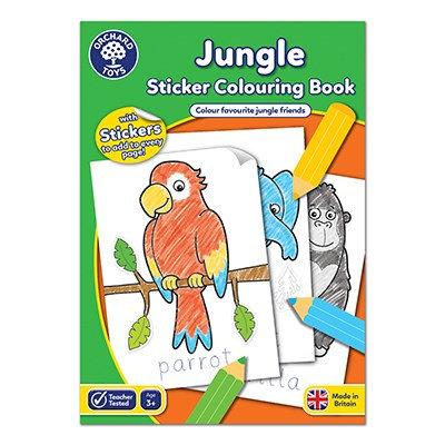 Orchard Jungle Colouring Book
