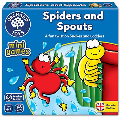Orchard Spiders & Spouts Game