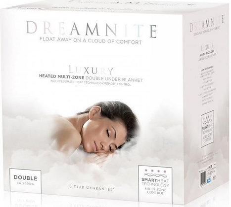 Dreamnite Double Fitted Electric Under Blanket