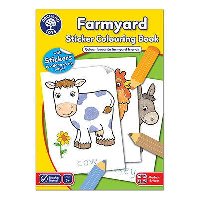 Orchard Farmyard Colouring Book