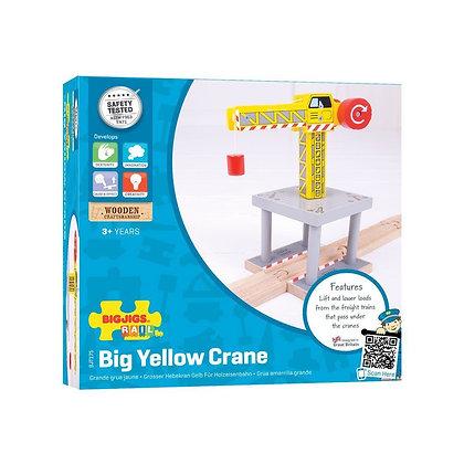 Bigjigs Big Yellow Crane