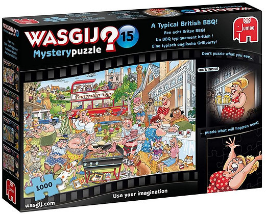 Wasgij Mystery 15 A Typical British BBQ
