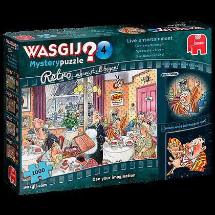 Wasgij Mystery Retro 4 Live