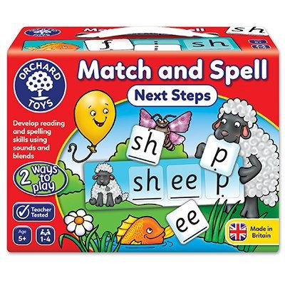 Orchard Match & Spell Next Steps