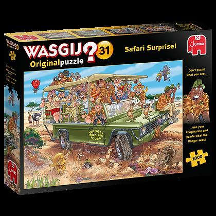 Wasgij Original 31 Safari Surprise