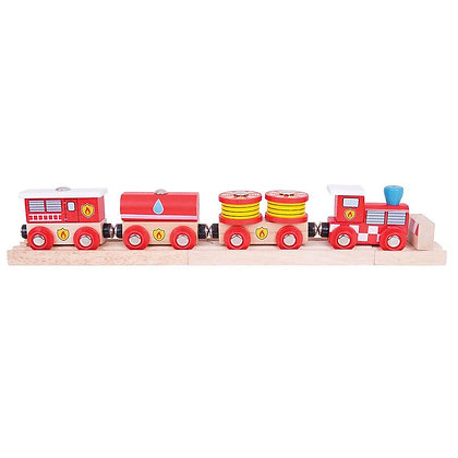 Bigjigs Fire & Rescue Train