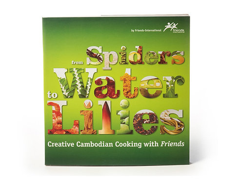 'From Spiders to Water Lillies' Cambodian Cookbook