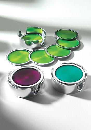 Aluminium Coasters -pack of 6