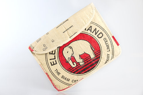 Padded IPad Folder: Elephant - Cambodia
