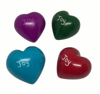 Soapstone Heart - Joy