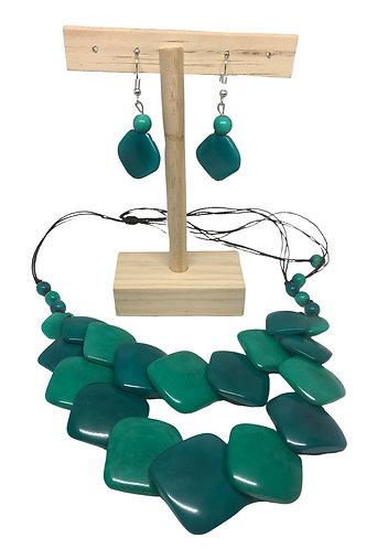 Tagua Nut Jewellery Set - Ecuador