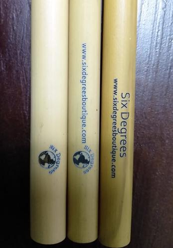 Branded Bamboo Straws