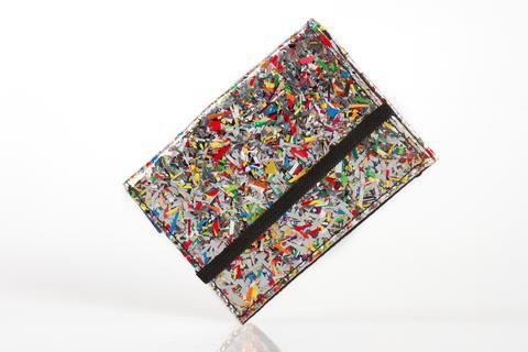Card Holder: Shredded Foil - Cambodia