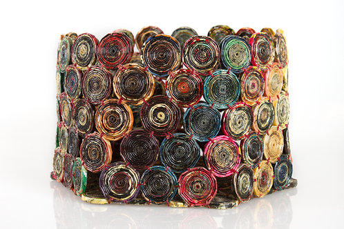 Rolled Paper Bowl - Cambodia