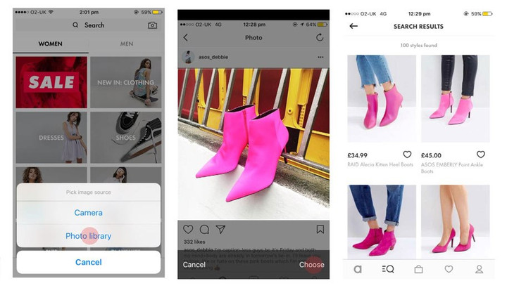 ASOS LAUNCHES VISUAL SEARCH TOOL TO AID INSPIRATION AND DISCOVERY FOR SHOPPERS
