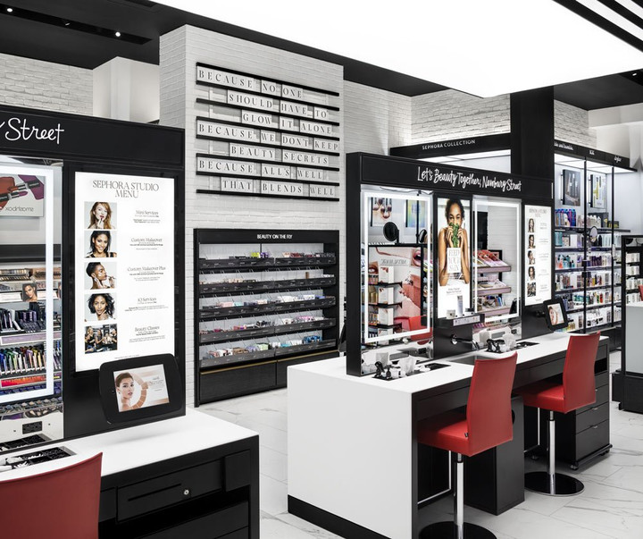 SEPHORA OPENS SMALLEST AND MOST DIGITALLY ENABLED STORE YET
