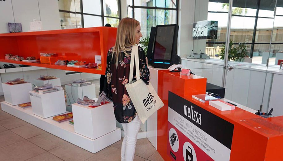 Melissa Shoes launches interactive retail in-store experience