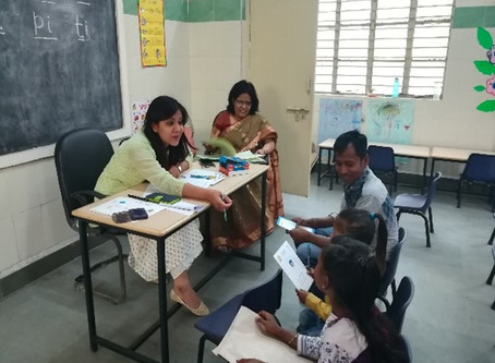 Yes, The Parents - Teachers- Meeting at the SDMC-Lajpat Nagar School was a different experience!