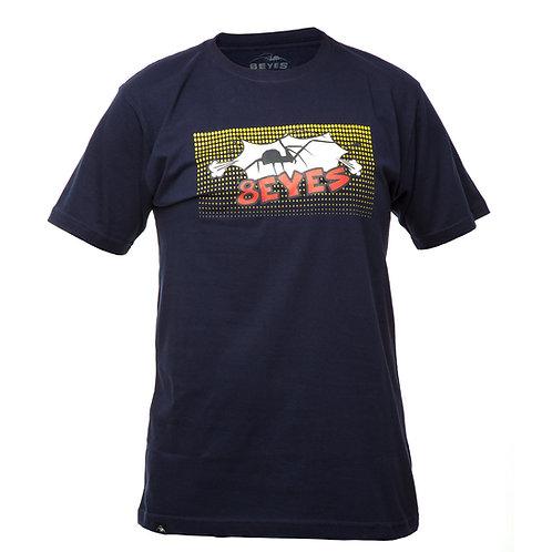 Camiseta Azul Marinho Cartoon