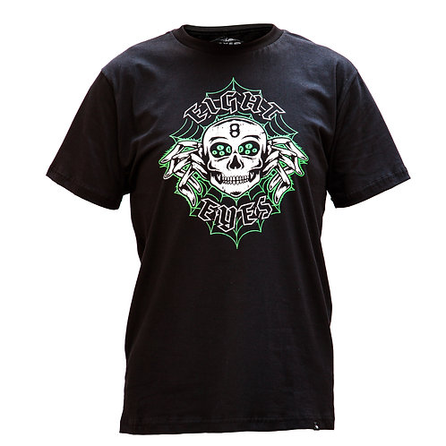 Camiseta Preta Skull
