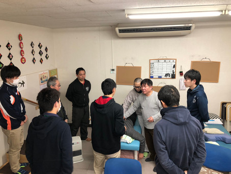 (3月22日)敬愛の勉強会を行いました。(月4回)