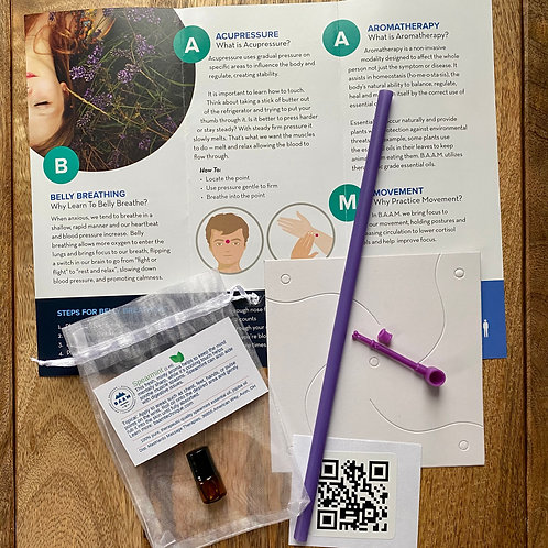 Breathing Windmill & Aromatherapy Care Package