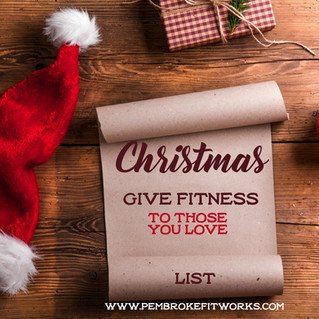 Still Wondering What to Get Someone? Give the gift of personal training!!