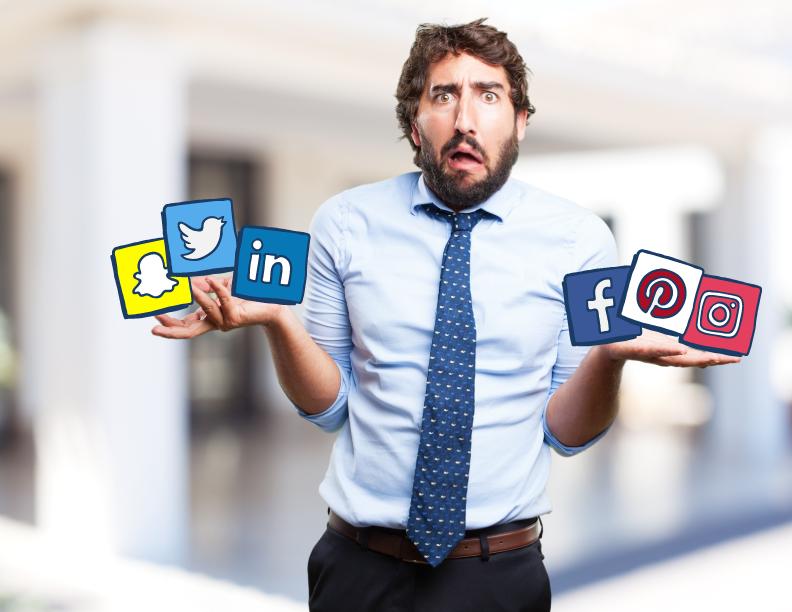 manejo redes sociales