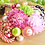 七五三髪飾りピンク