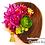 成人式髪飾りダリア