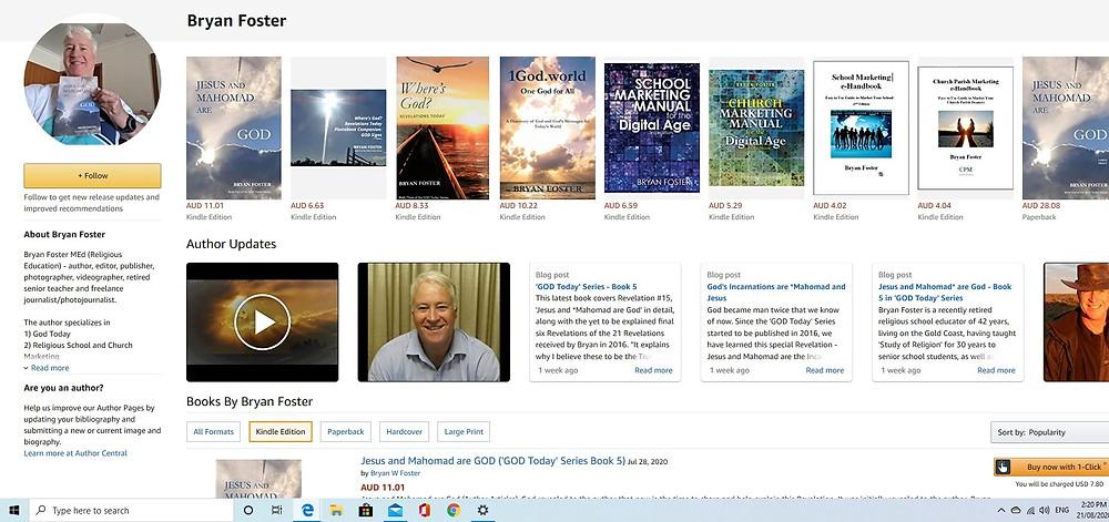 Bryan Foster on Amazon