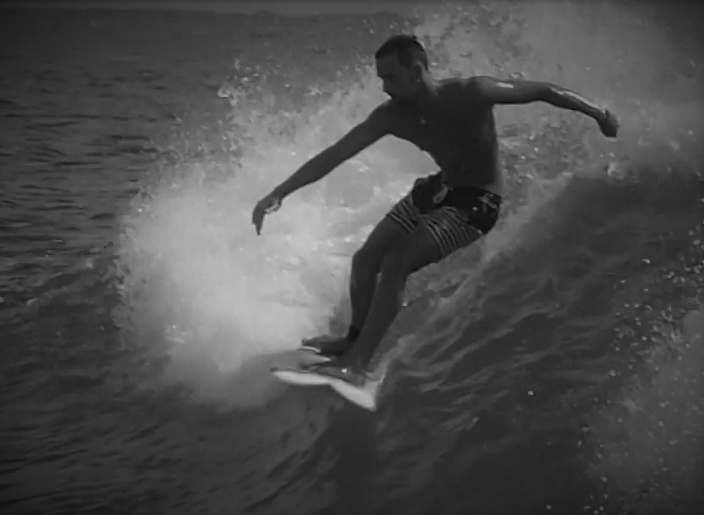 Surfing at Snapper Rocks, Gold Coast © Copyright 2018 Bryan W Foster