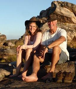 Bryan Foster and Karen Foster Kakadu NP