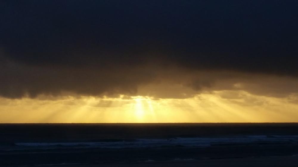 Kingscliff Beach sunrise © Copyright 2018 Bryan W Foster