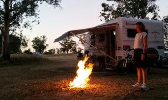 Karen Foster - Texas bushcamp fire. Copy