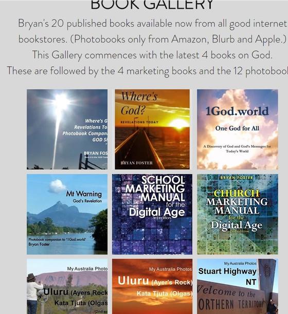 Bryan and Karen's 20 Books' Catalogue